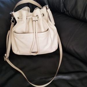 Ivory Coach Handbag